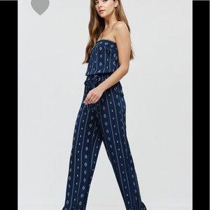 Pants - Boho print jumpsuit (2 LEFT)